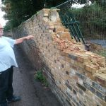 Brick Wall Damage Inspection #4